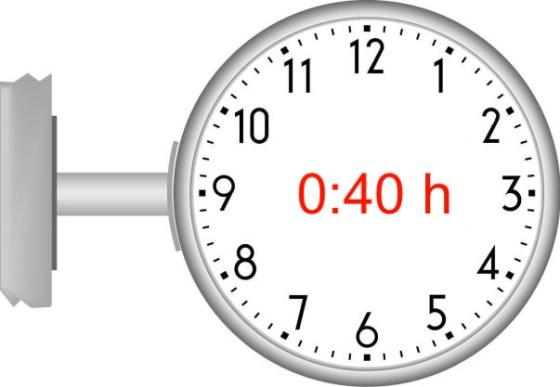 40 Minuten