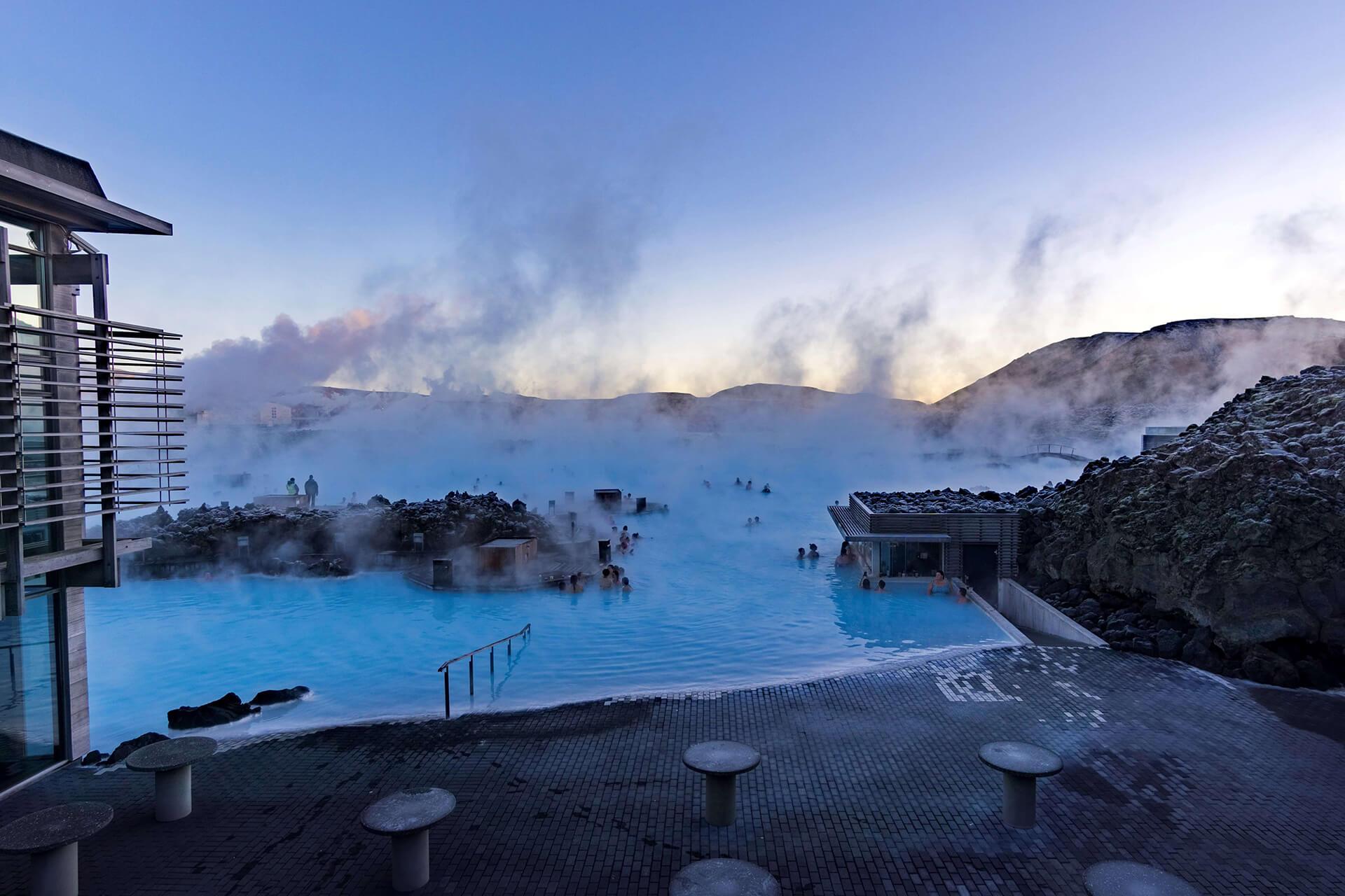 البحيرة الزرقاء (بلو لاغون) - أيسلندا - الطبيعة الساحرة في آيسلندا