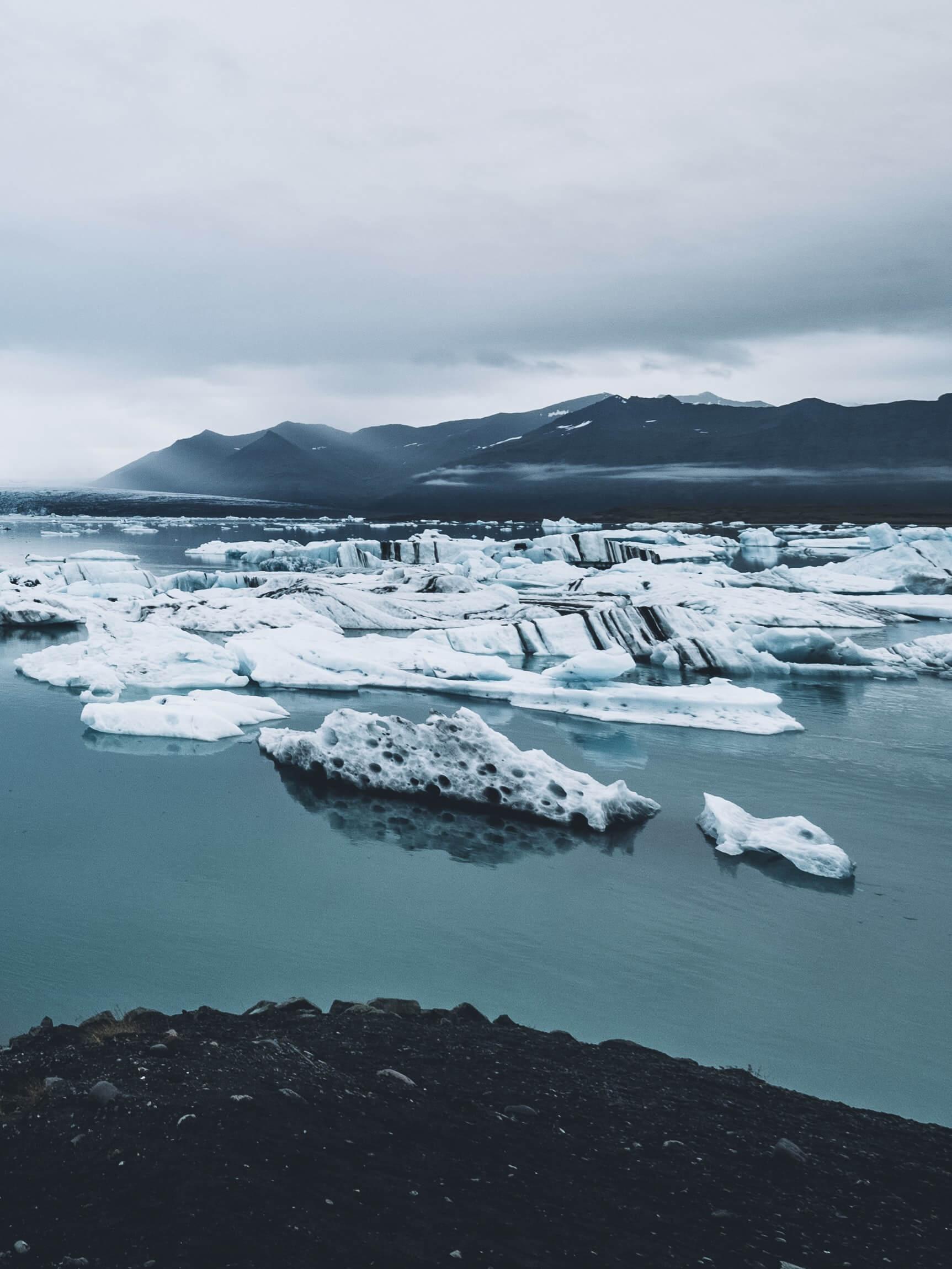 جوكالسارلون جلاسير لاجون -  الطبيعة الساحرة في آيسلندا
