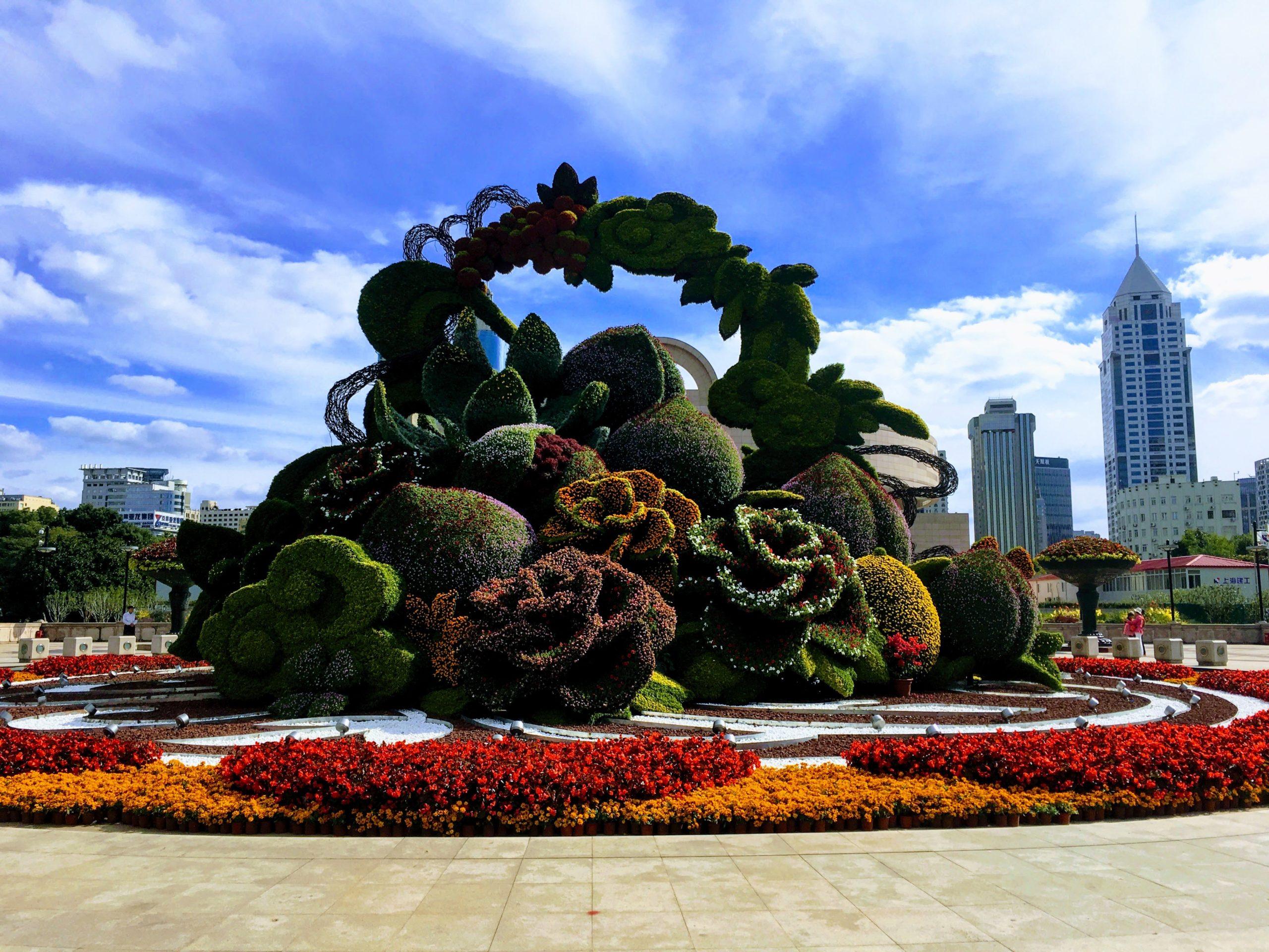 أفضل الحدائق والمساحات الخضراء في شنغهاي ، الصين