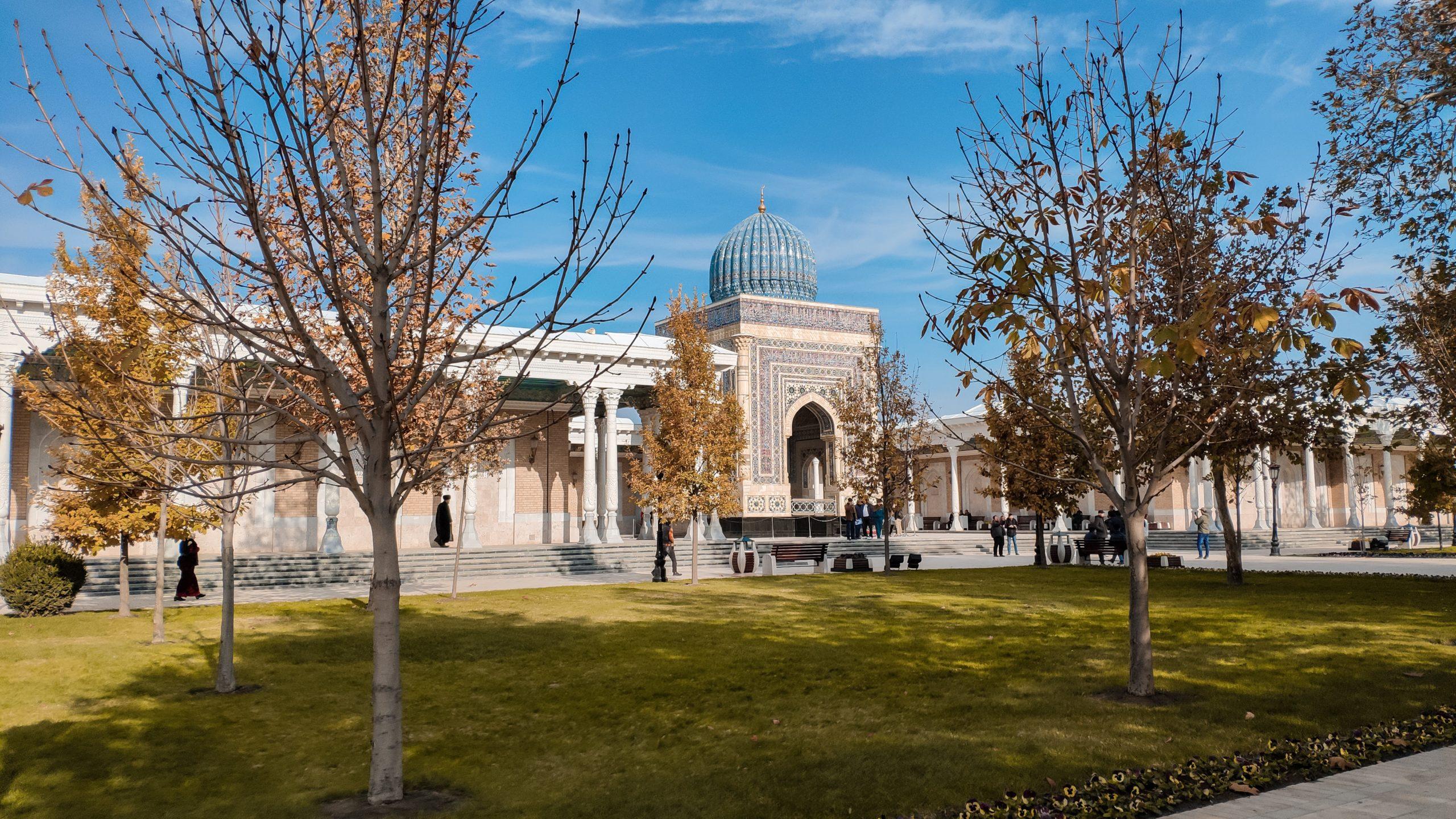 استكشف معنا الكنوز المعمارية الرائعة في سمرقند