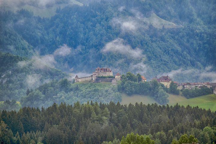 أجمل 5 قلاع في سويسرا
