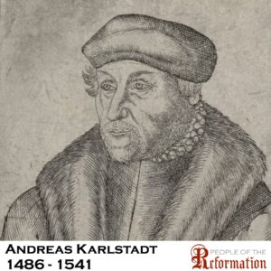 Image result for Martin Luther Andreas Karlstadt