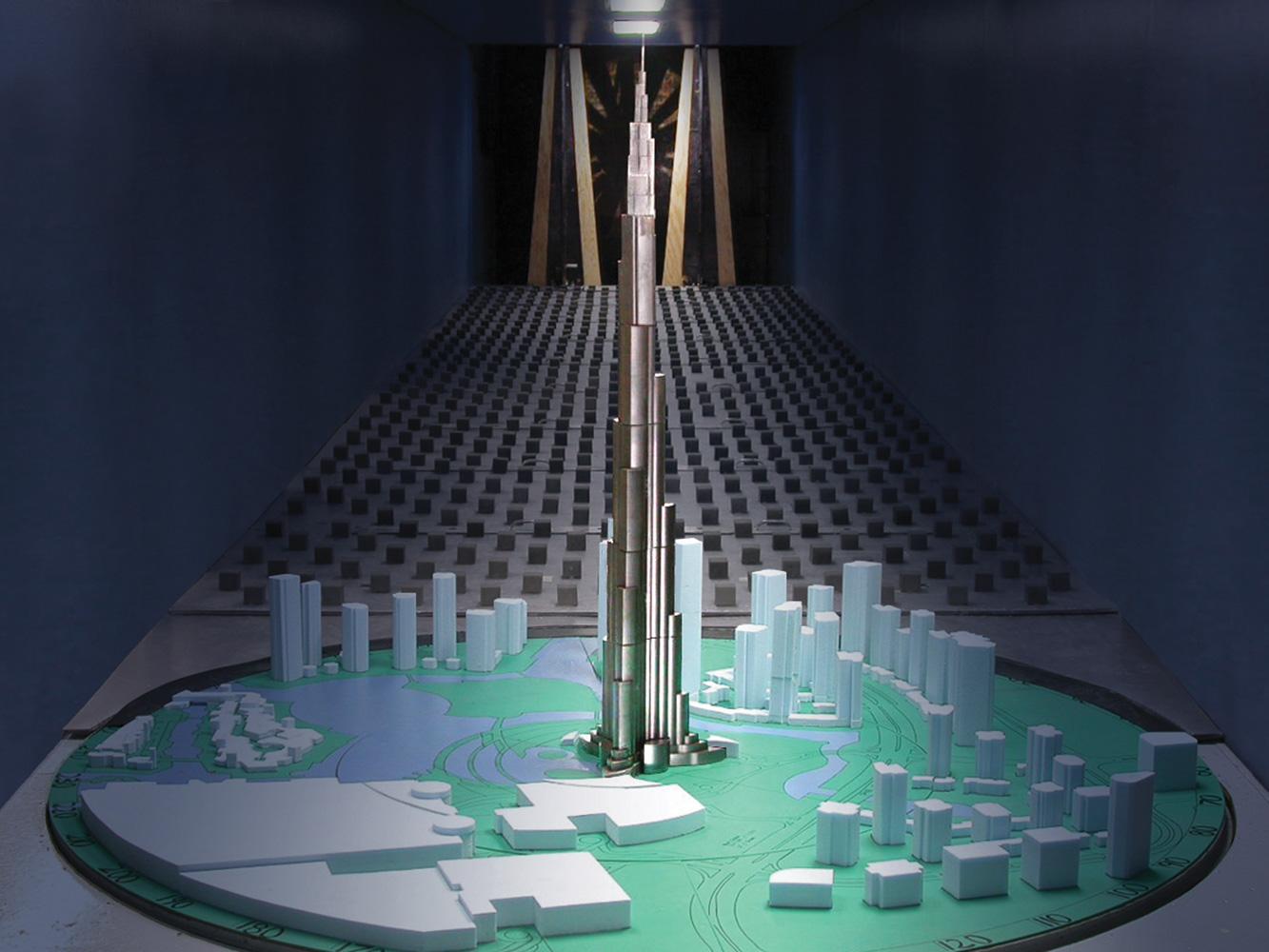 Burj Khalifa RWDI Consulting Engineers And Scientists RWDI
