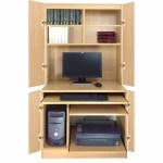 Hideaway Computer Unit R White Cabinets Ltd