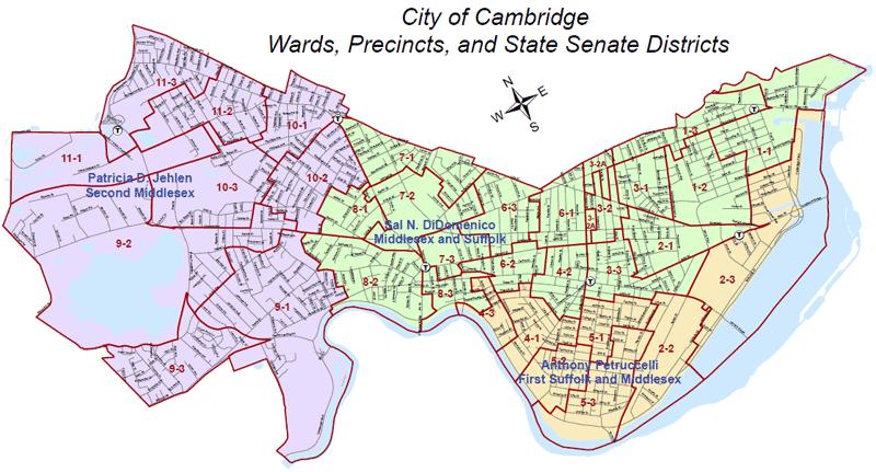 State Senate Districts - Cambridge