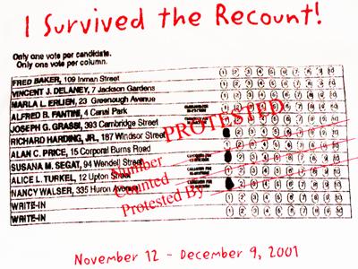 Recount 2001