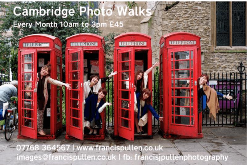 Cambridge Photo Walks