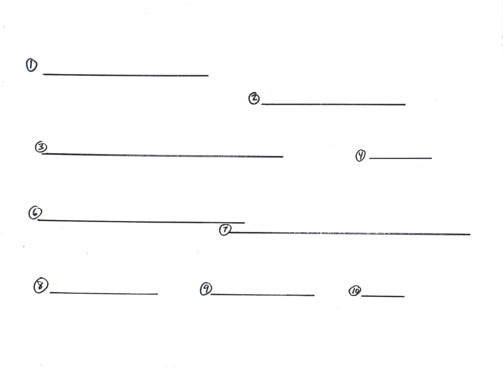 Worksheet The Dissection Of A Line Into Equal Parts