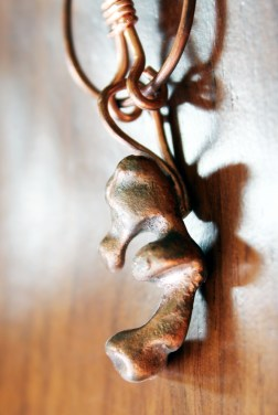 Repurposed Copper Pendant Copper Jewelry