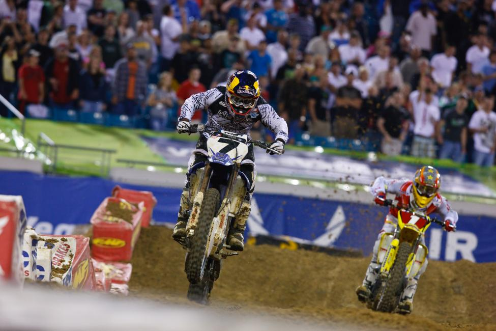 Stewart and Reed had an epic showdown in Jacksonville in 2009. Photo: Simon Cudby