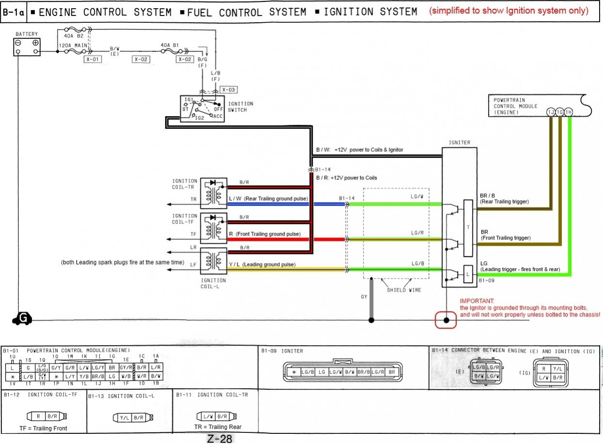 How The FD's Ignition System Works + Simplified Wiring