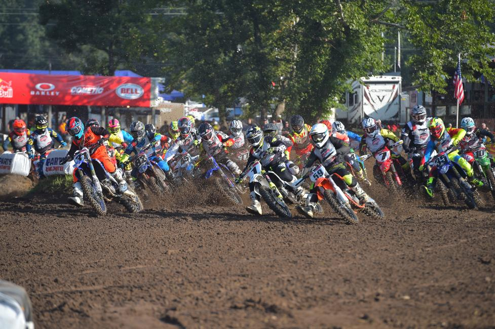 Ricky Renner (#31) earned the Junior (25+) moto two win.