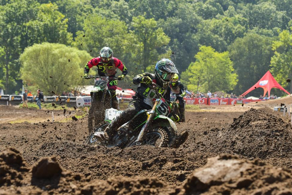 Seth Hammaker battled throughout the week in the 250 A class.
