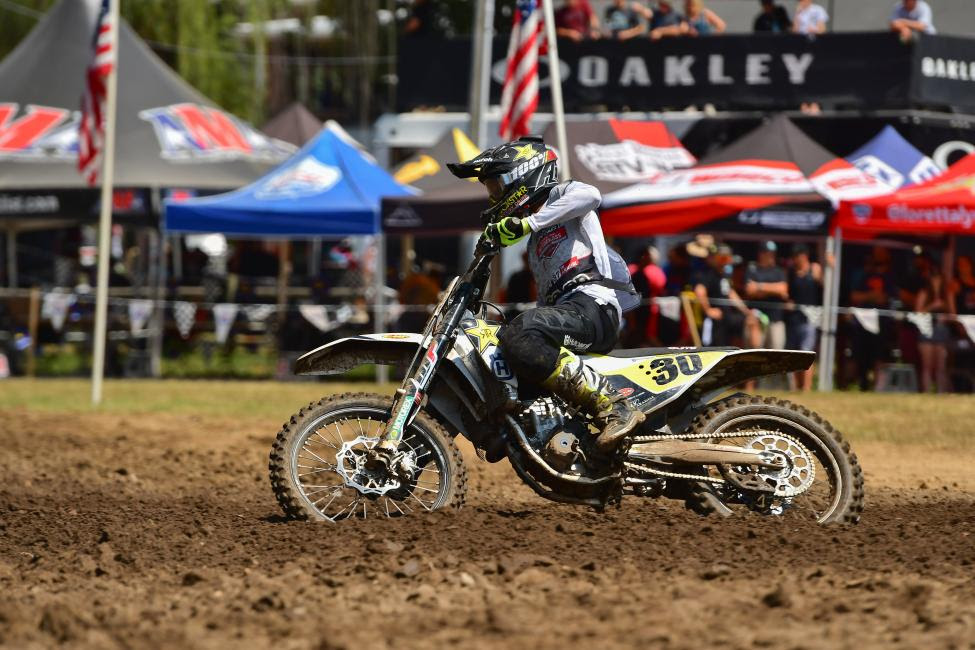 Jalek Swoll earned the 250 B National Championship.