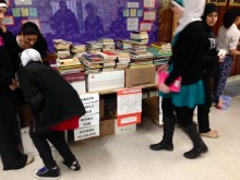 Working on the book drive.