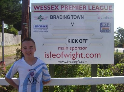 Welcome to Brading Town