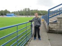 Inside the ground