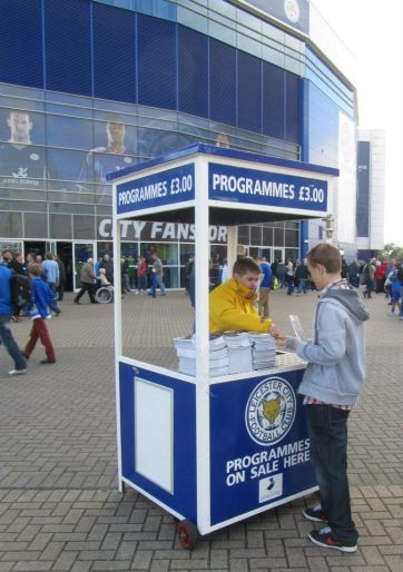 Buying the matchday programme