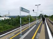 The view from the station