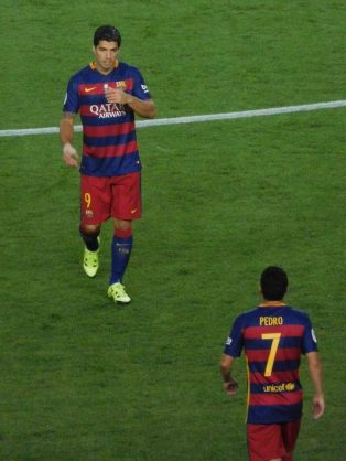 Suarez and Pedro