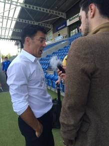 Dean Saunders wins his first competitive match as Chesterfield boss