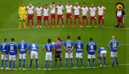 A minute's applause for Alan Woodward