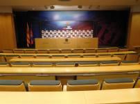 The press room
