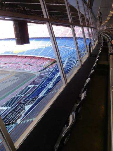The press box - I hope to end up here one day!