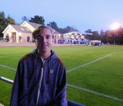 At the world's second oldest football ground, Sandygate