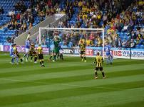 Sam Hird heads Chesterfield ahead!