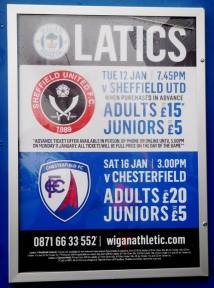 £5 more to watch the Spireites!