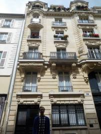 The apartments at 17 Rue Beautreillis