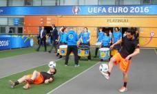 Pre-match entertainment