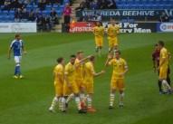 Shane Ferguson opens the scoring