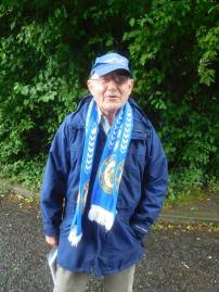 A friendly Nelson fan who has supported the club since just after the war!