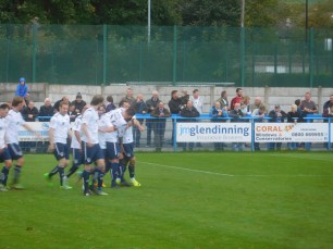 2-1 to Guiseley with six minutes to go!