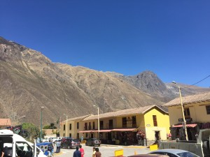 Main Square in Ollantaytambo