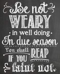 Be-Not-Weary