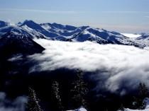 On top of Whistler Mountain