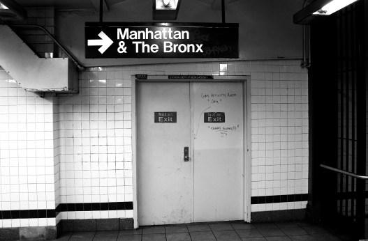 The Subway to Manhattan, NYC