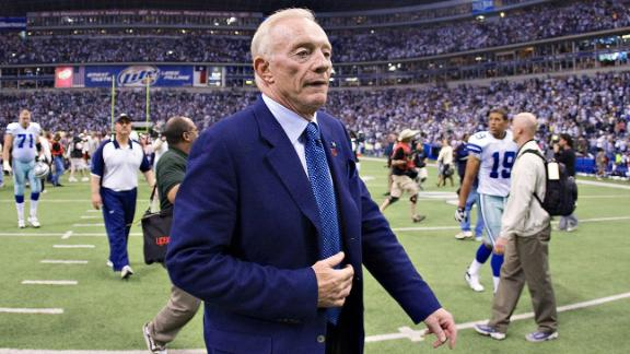 Postgame Euphoria Leaves Jerry Jones Anything But Speechless