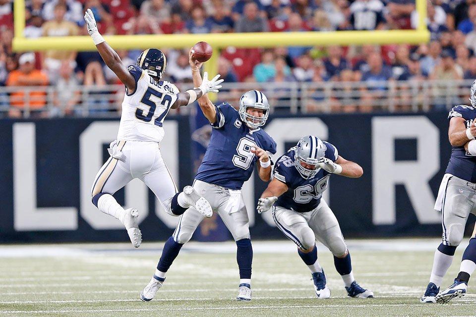 Record-Setting Comeback Lifts Cowboys Over Rams 34-31