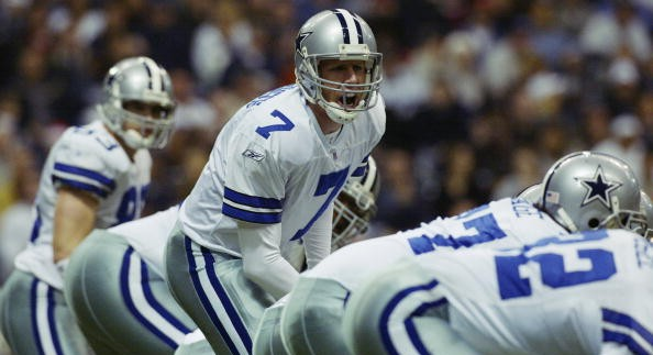 Archive: In First Career Start, Cowboys QB Hutchinson Surprises No One