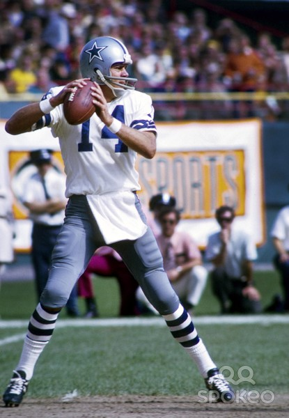 Craig Morton is the only Cowboys QB with an undefeated record in road postseason games, but even that mark has an asterisk next to it.