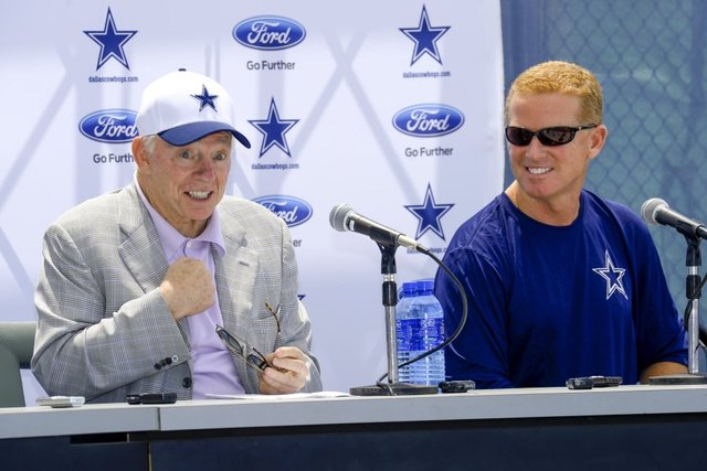 Jerry is definitely working the Jason Garrett Plan.