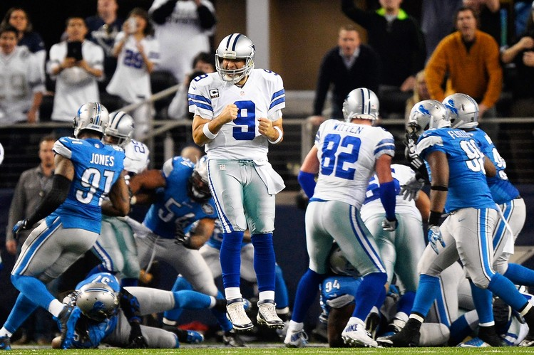 By agreeing to lean more on his teammates, Tony Romo was able to lead the Cowboys to their first playoff victory since 2009, in comeback fashion over the Detroit Lions.