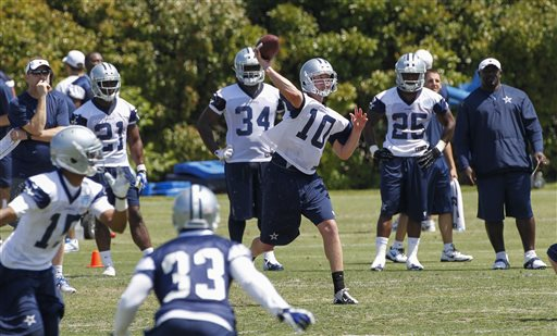 Dustin Vaughn has made the jump from Year One to Year Two like many expected, which has his standing on the Cowboys 53-man roster very much in question.