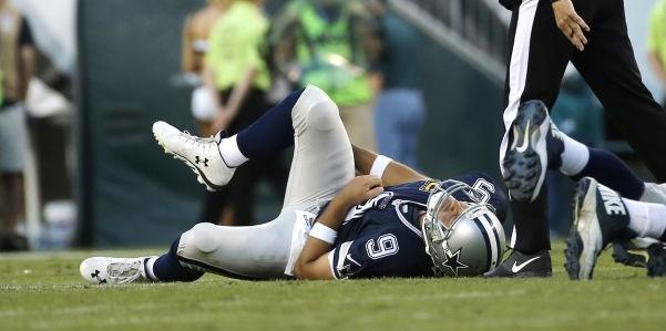 Video Of Broken Hearted Jerry Jones – Dallas Cowboys After Tony Romo Injury
