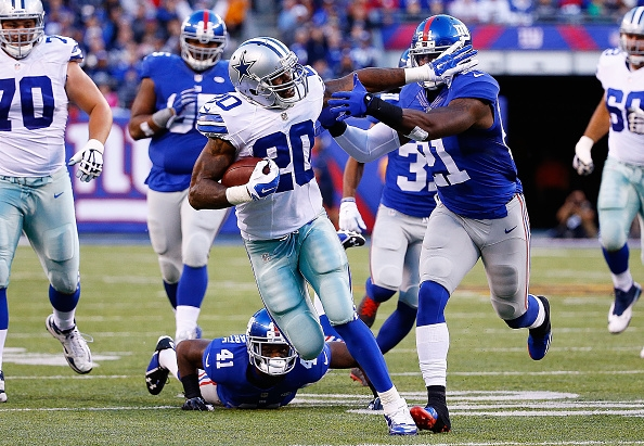 Darren McFaddens 152-yard rushing day at the Giants earned him the starting job in Dallas, a fact that didnt sit well with teammate Joseph Randle when he learned of it on Wednesday.